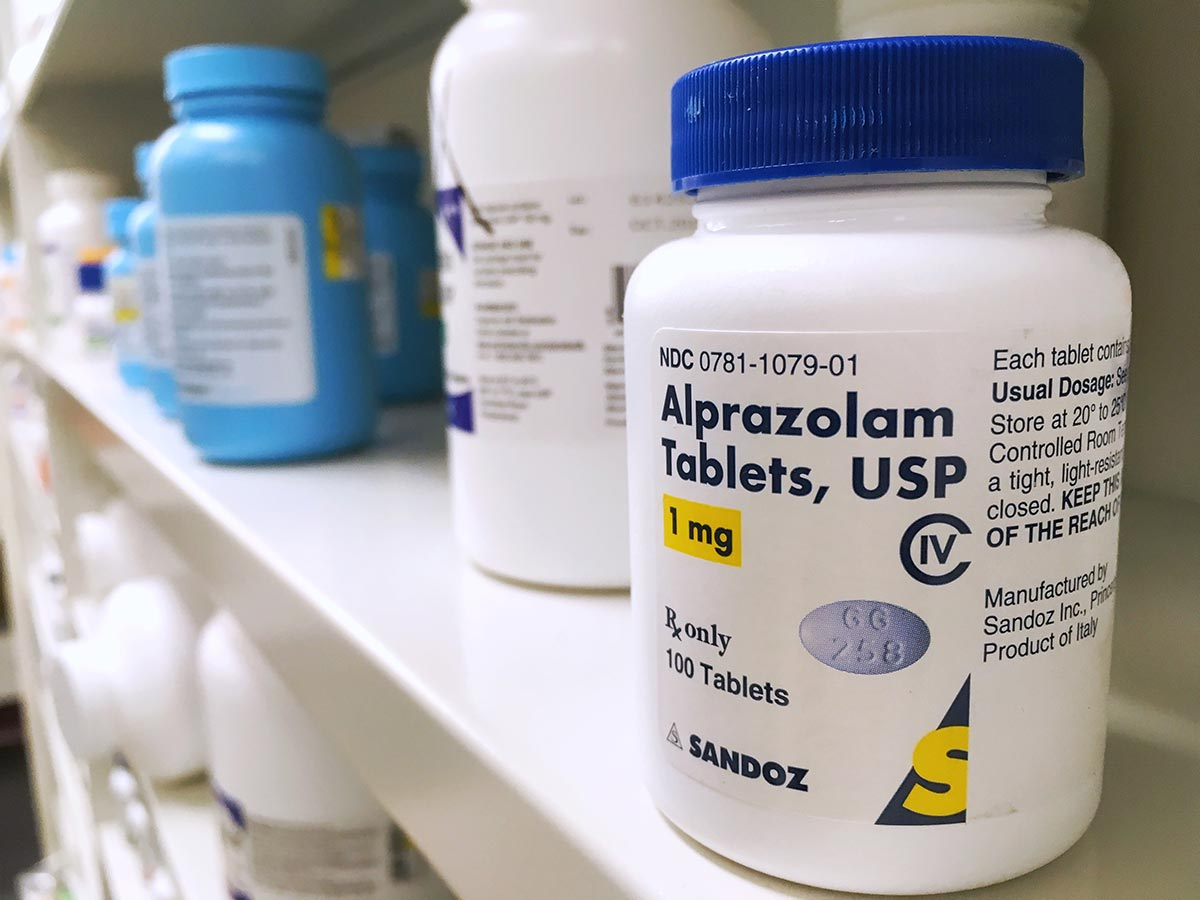 lighthousetreatment-using-psych-meds-in-recovery-article-photo-september-ogden-utah-xanax-bottle-on-shelf-use-for-Psychotropic-Drugs