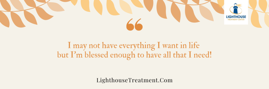 Thanksgiving Sobriety Quotes